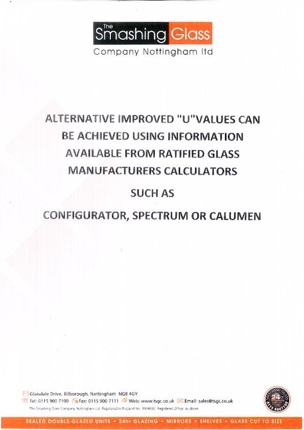 u-values